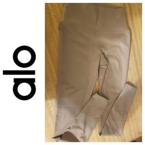 ALO, Like New, Yoga Pants, Tan, Full Length, XS